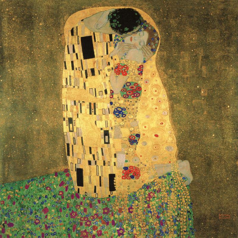 Der Kuss Klimt Gustav