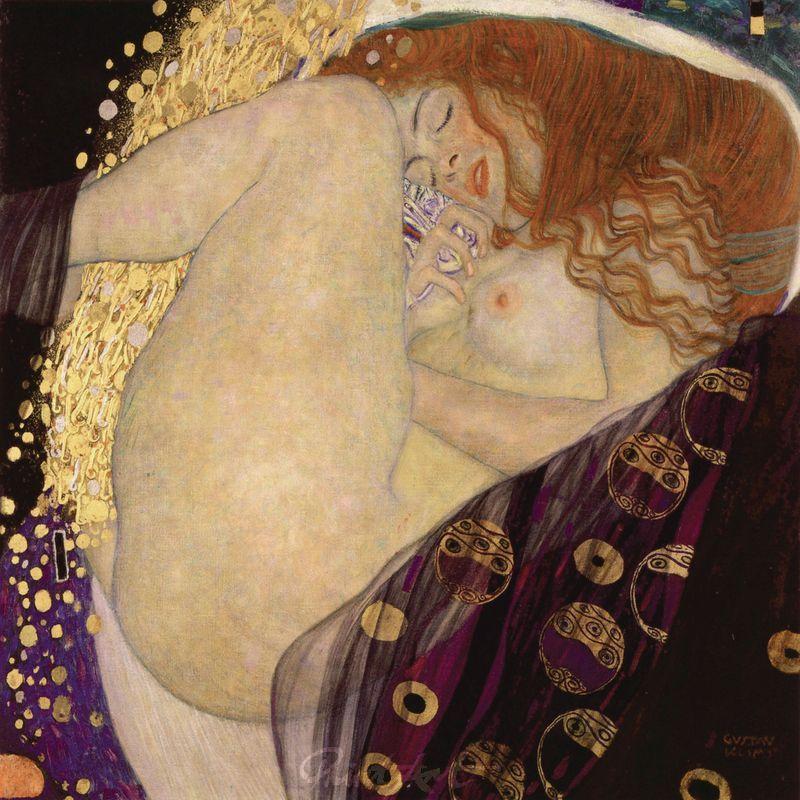 Danae Klimt Gustav
