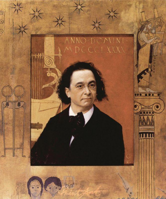 Bildniss Joseph Pembauer Klimt Gustav