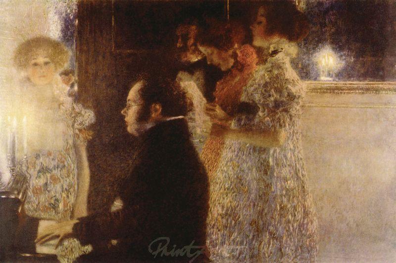 Schubert am Klavier Klimt Gustav
