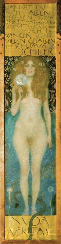 Nuda Veritas Klimt Gustav