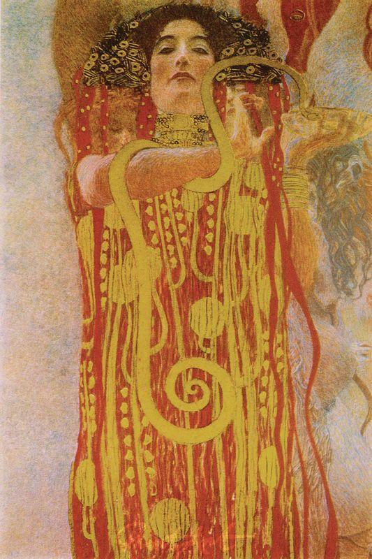 Hygieia Klimt Gustav