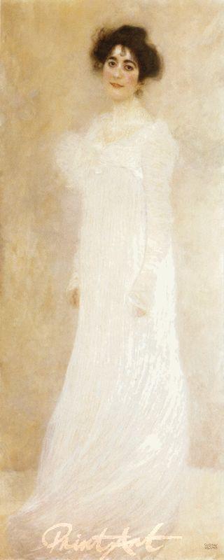 Bildnis Serena Lederer Klimt Gustav