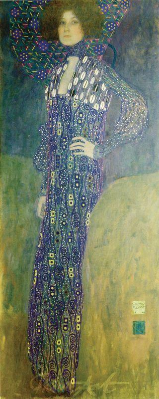 Bildnis Emilie Flöge Klimt Gustav