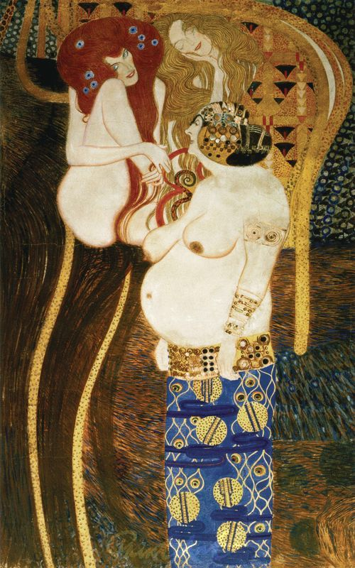 Beethovenfries (Detail) II Klimt Gustav