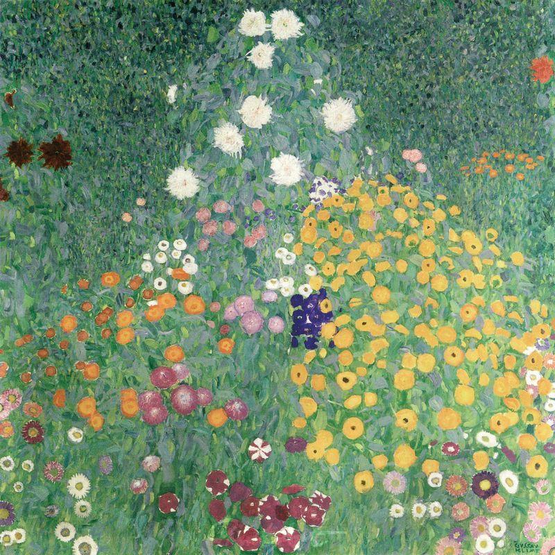 Bauerngarten (Blumengarten) Klimt Gustav