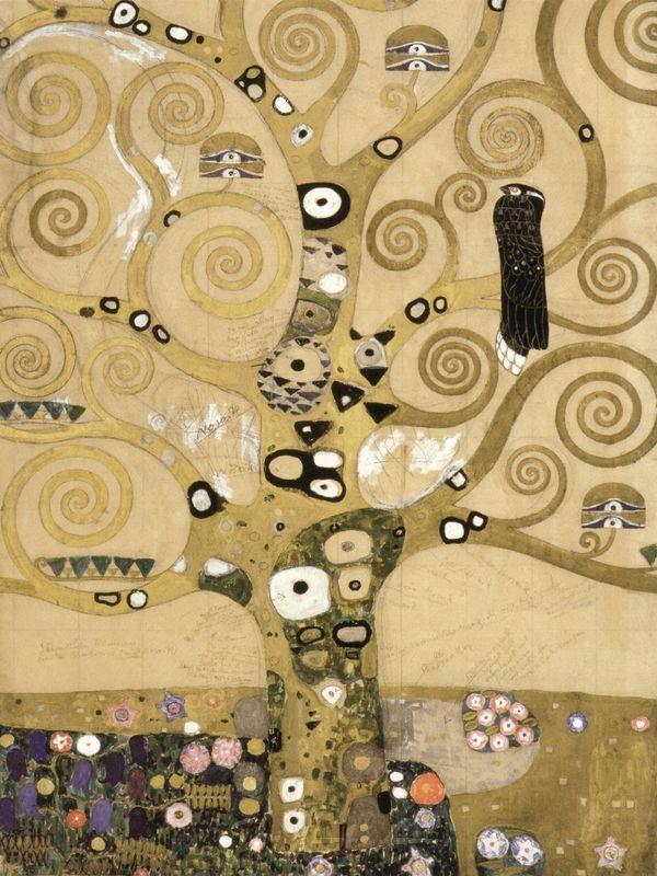Lebensbaum Klimt Gustav