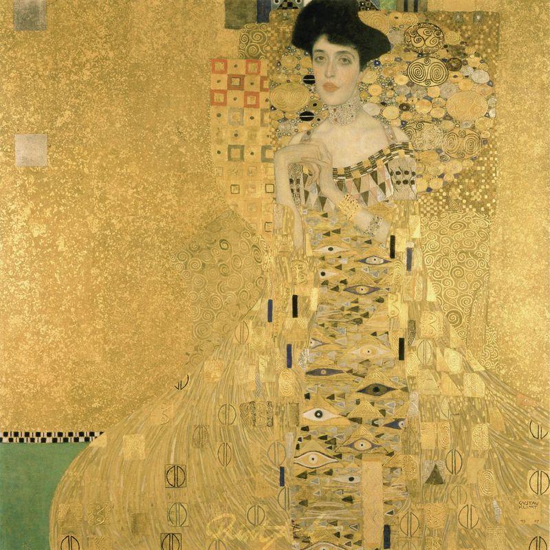 Bildnis Adele Bloch-Bauer I Klimt Gustav