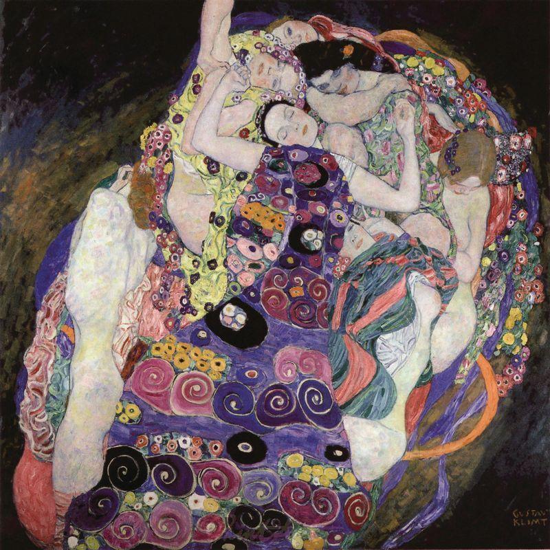 Die Jungfrau Klimt Gustav