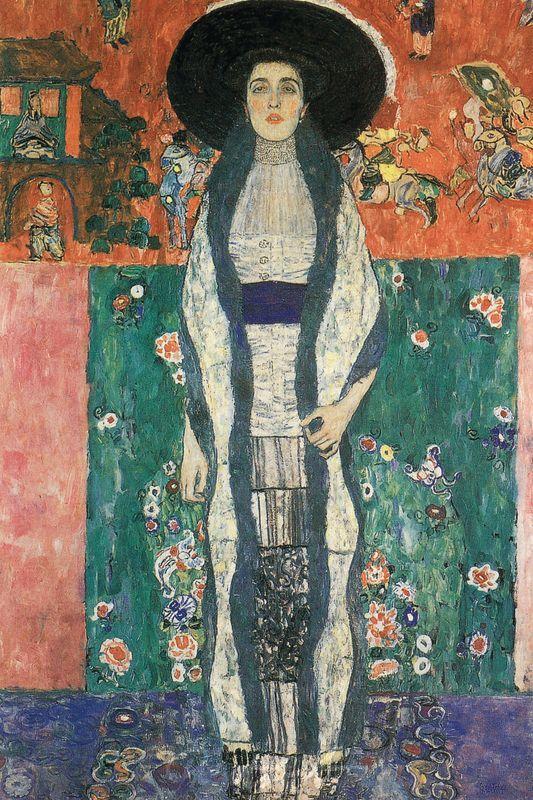 Bildnis Adele Bloch-Bauer II Klimt Gustav