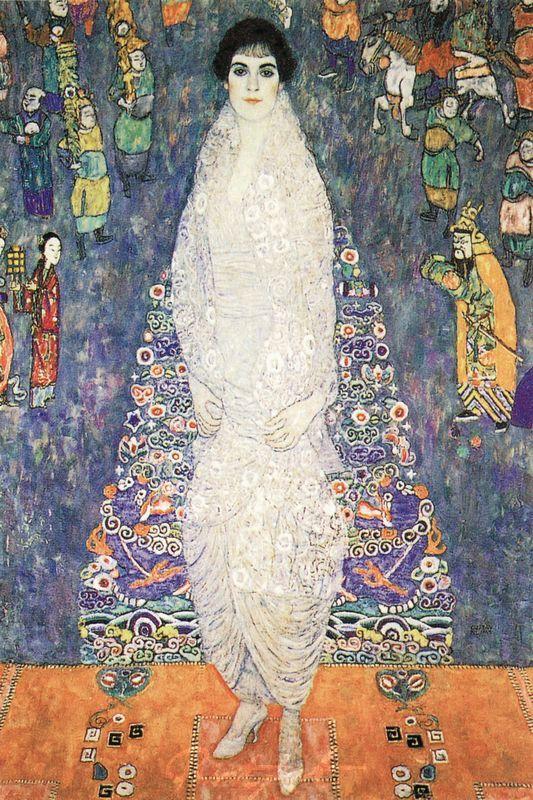 Bildnis Baronin Elisabeth Bachhofen-Echt Klimt Gustav