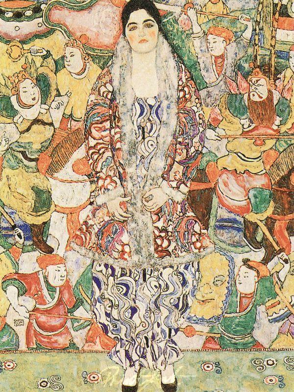 Bildnis Frederike Maria Beer Klimt Gustav