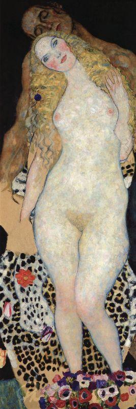 Adam und Eva Klimt Gustav