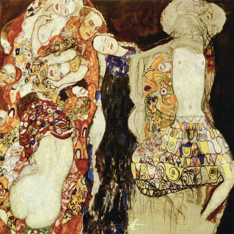 Die Braut Klimt Gustav