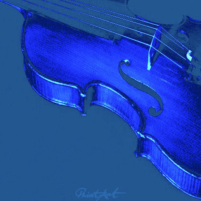 Geige Abstrakt Musikinstrumente