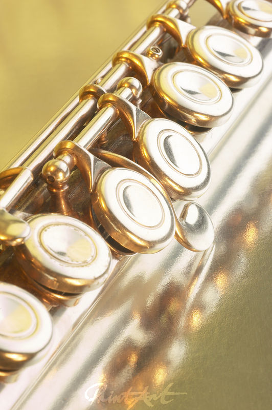 Querflöte Gelb Musikinstrumente