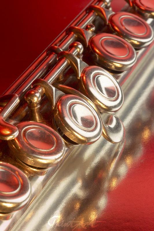 Querflöte Rot Musikinstrumente