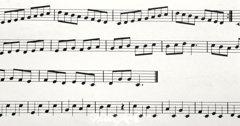 Noten Musikinstrumente