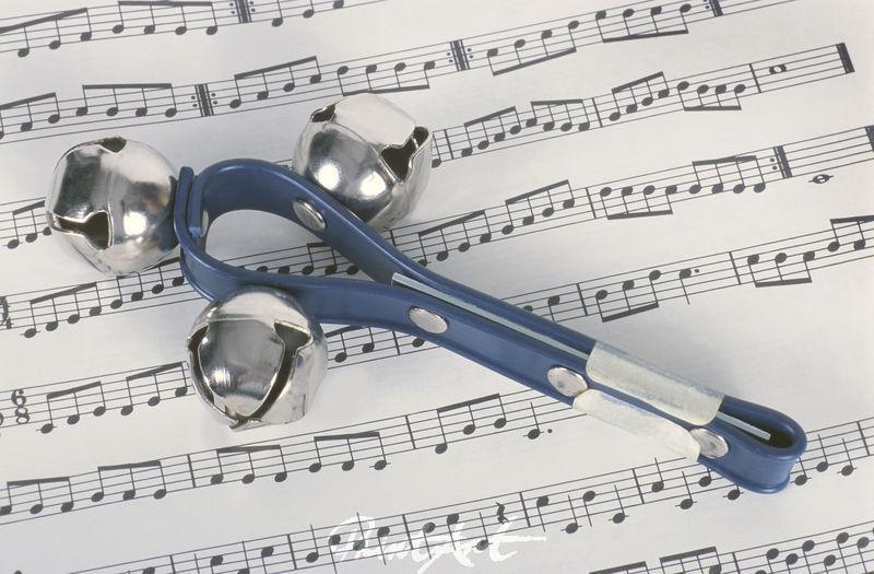 Schelle/Noten Musikinstrumente