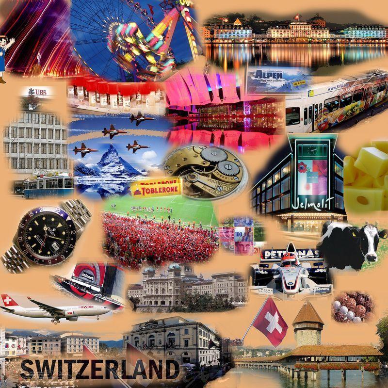 Schweiz Swiss Ethno