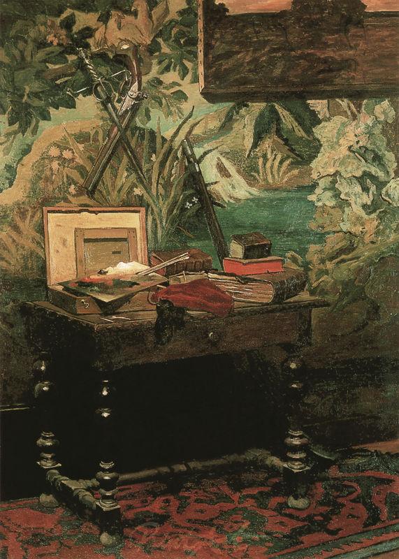 Atelierstilleben Monet Claude