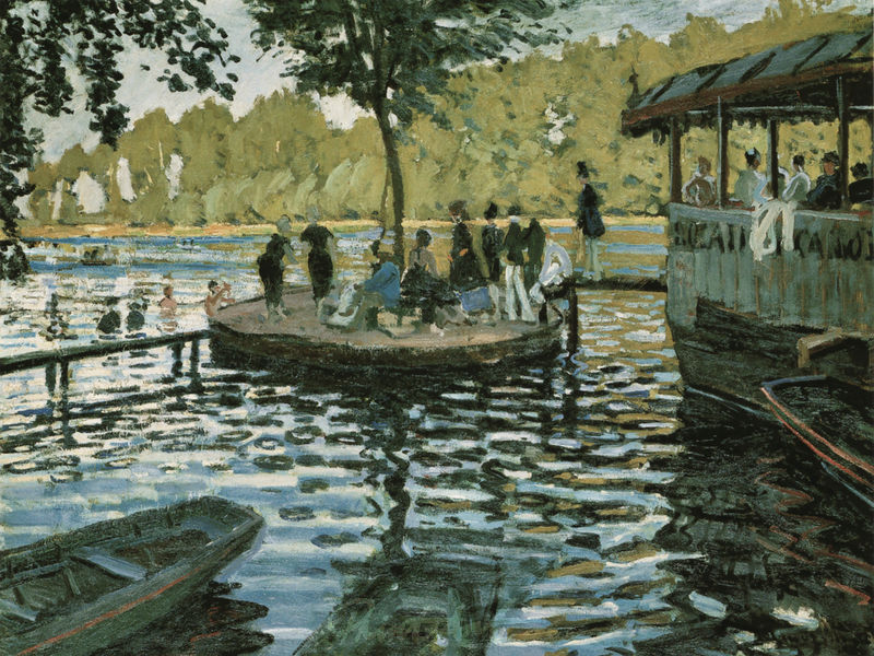 La Grenouillère Monet Claude