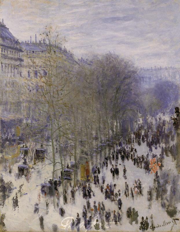 Boulevard des Capucines Monet Claude
