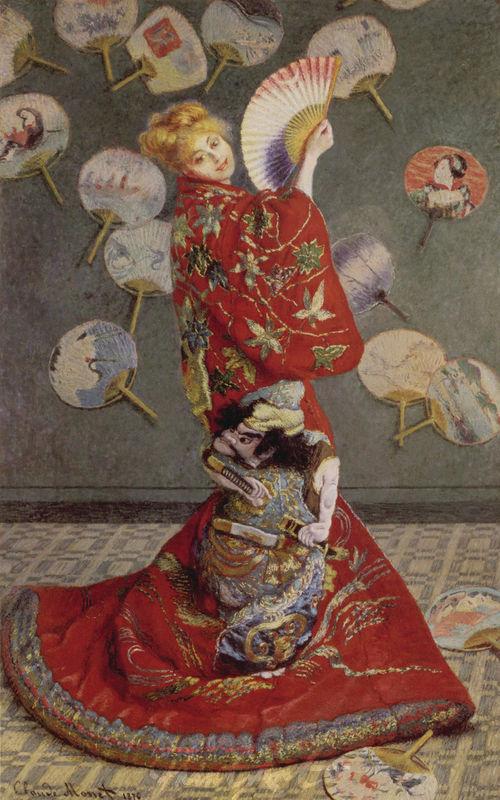 La Japonaise Monet Claude