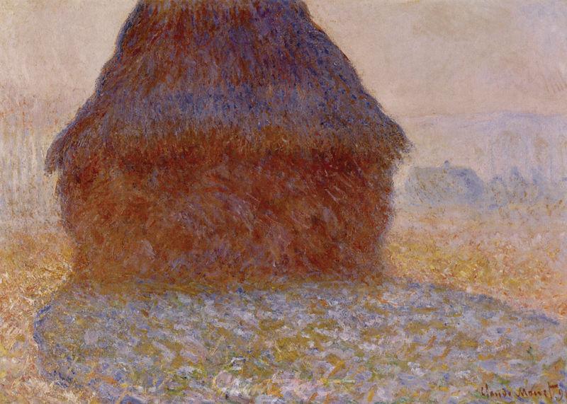 Heuhaufen im Sonnenlicht Monet Claude