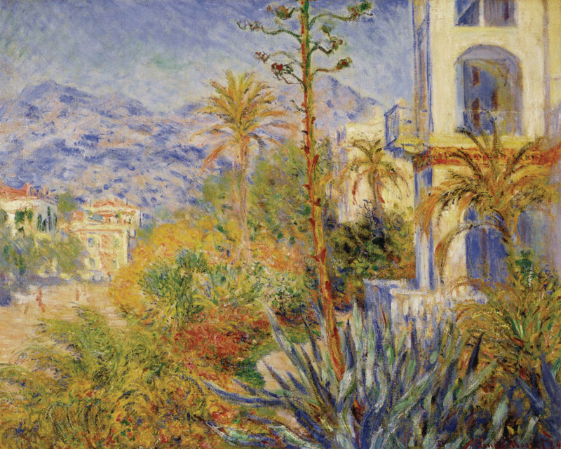 Villen in Bordighera Monet Claude