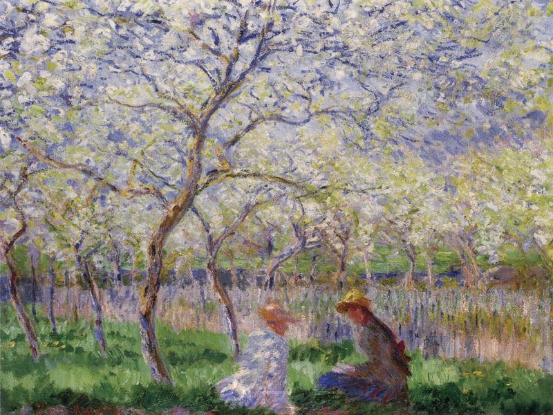 Frühling Monet Claude