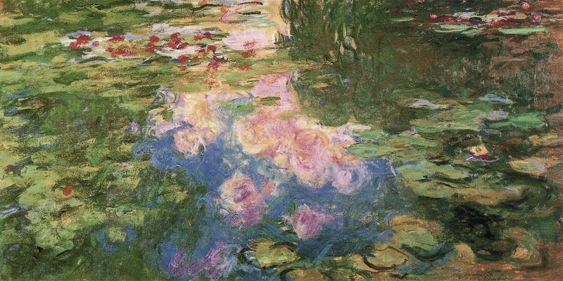Seerosen Monet Claude
