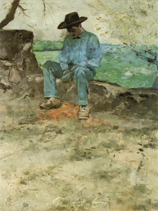 Der junge Routy in Céleyran Lautrec Toulouse