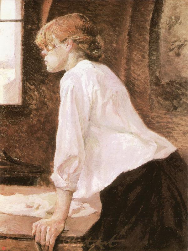 Die Wäscherin Lautrec Toulouse
