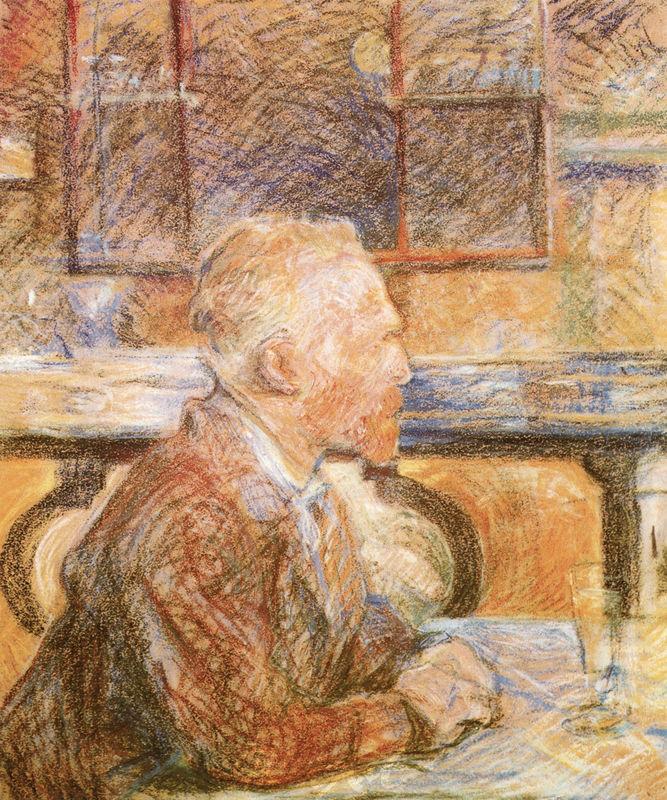 Bildnis Vincent van Gogh Lautrec Toulouse