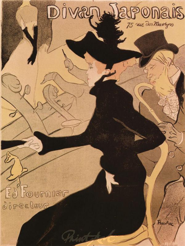 Divan Japonais Lautrec Toulouse