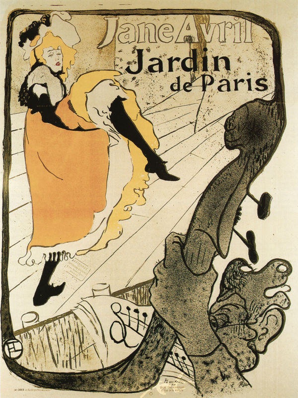 Jardin de Paris: Jane Avril Lautrec Toulouse