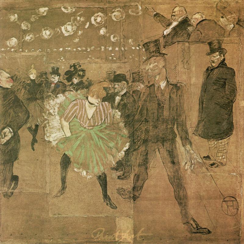 "Ball im ""Moulin Rouge"" Lautrec Toulouse"