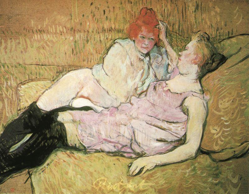 Das Sofa Lautrec Toulouse