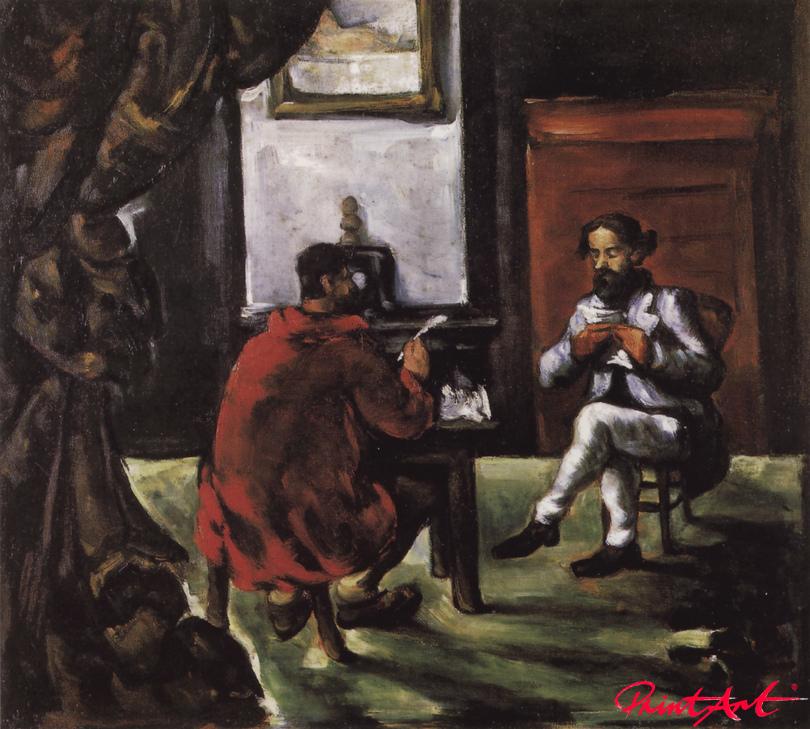 Die Lesestunde von Paul Alexis bei Zola Cezanne Paul