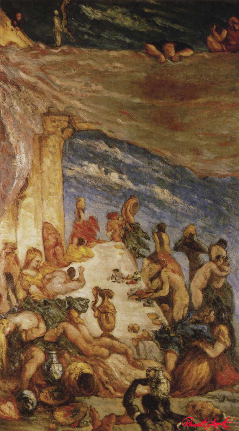 Die Orgie Cezanne Paul