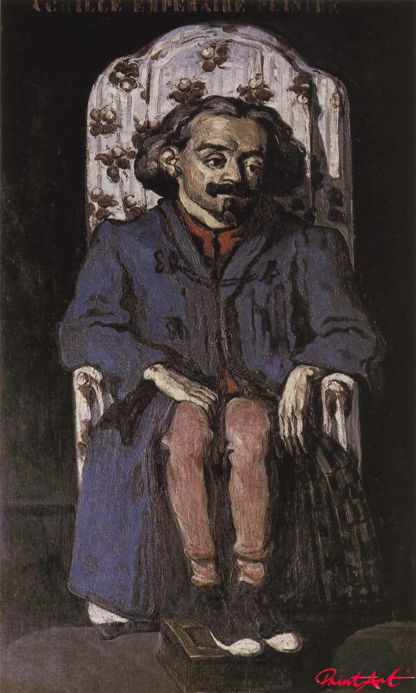 Porträt des Malers Achille Empéraire Cezanne Paul
