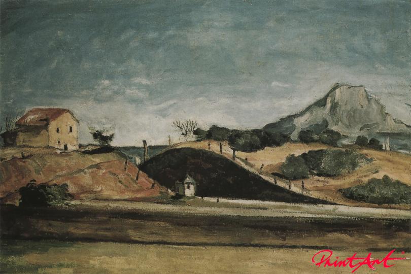 Der Bahndurchstich Cezanne Paul