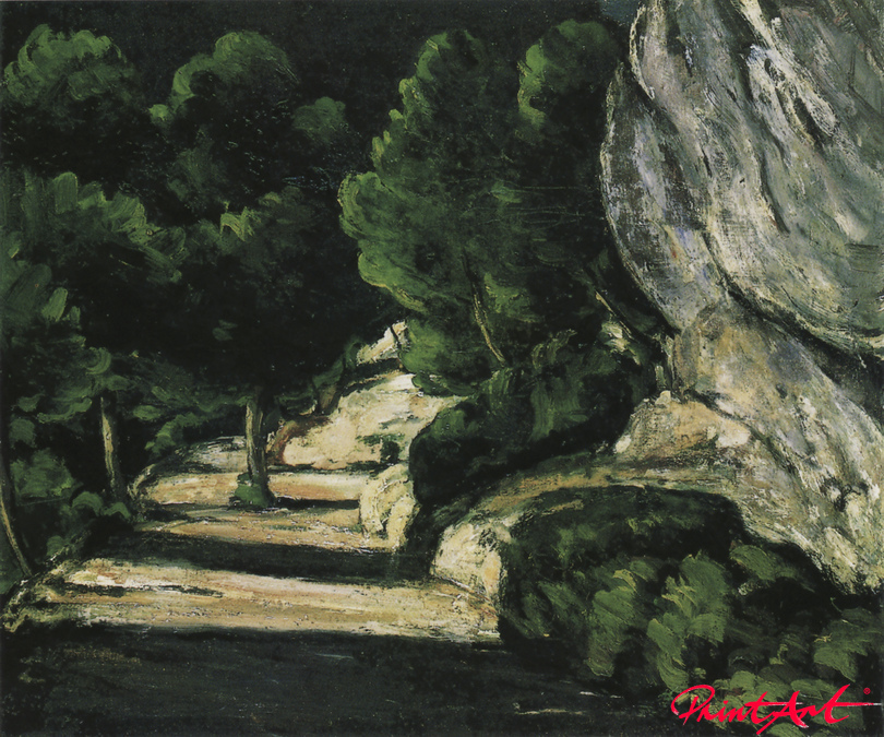 Felslandschaft Cezanne Paul