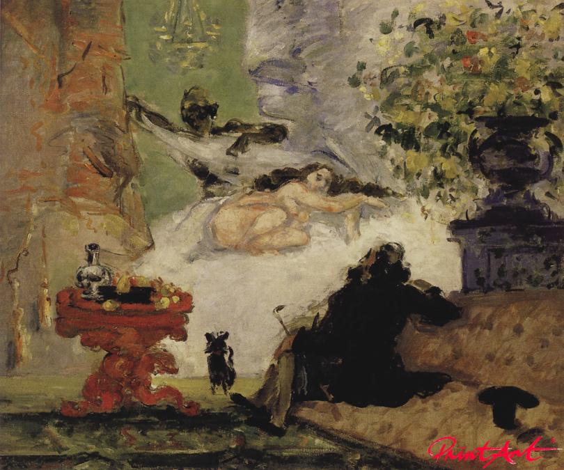 Eine moderne Olympia Cezanne Paul