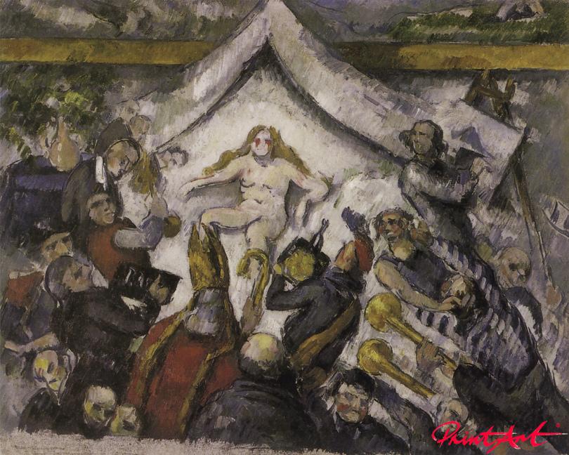 Das Ewig-Weibliche Cezanne Paul