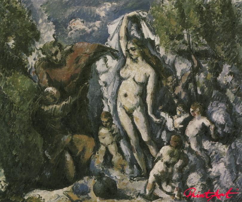 Die Versuchung des heiligen Antonius Cezanne Paul