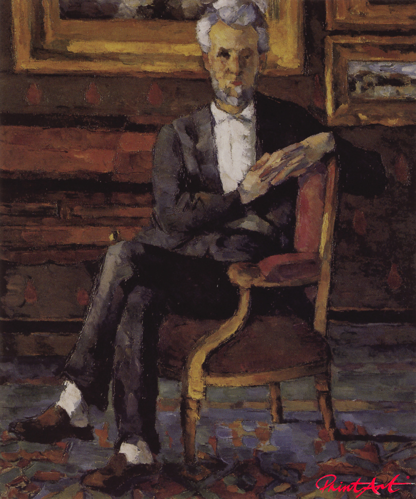 Victor Chocquet im Lehnstuhl Cezanne Paul
