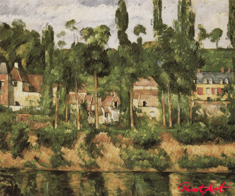 Das Château de Médan Cezanne Paul