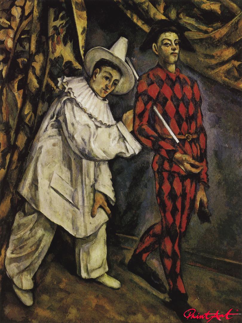 Mardi Gras Cezanne Paul